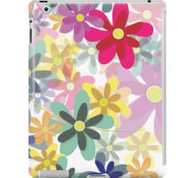 Blossoms in Bloom (Seamless Pattern) iPad Case/Skin