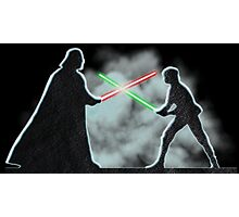 Vader Luke duel Photographic Print