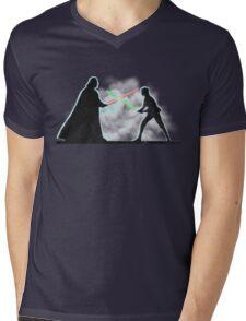 Vader Luke duel Mens V-Neck T-Shirt