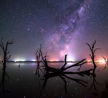 Lakeside Galaxy... by Benjamin Ewens