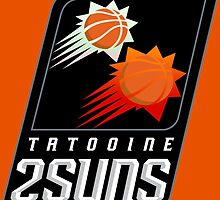 Tatooine 2Suns - Star Wars Sports Teams by SHABBADOO2