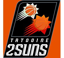 Tatooine 2Suns - Star Wars Sports Teams Photographic Print