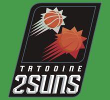 Tatooine 2Suns - Star Wars Sports Teams Kids Tee