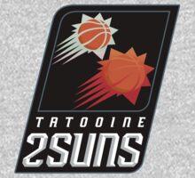 Tatooine 2Suns - Star Wars Sports Teams One Piece - Short Sleeve