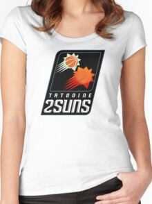 Tatooine 2Suns - Star Wars Sports Teams Women's Fitted Scoop T-Shirt
