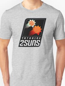 Tatooine 2Suns - Star Wars Sports Teams Unisex T-Shirt