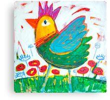 Chicken Love 2 Canvas Print