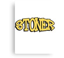 Stoner Weed Canvas Print