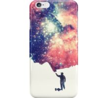 Painting the universe iPhone Case/Skin
