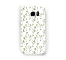 Seamless ecology pattern with hand drawn leaves Samsung Galaxy Case/Skin