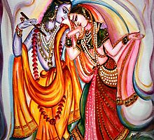 Krishna and Radha by Harsh  Malik