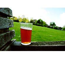 Summer Beer. Photographic Print