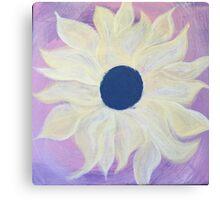 Sunny Days; Yellow Petals Canvas Print