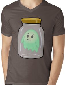 Ghost In A Jar Mens V-Neck T-Shirt