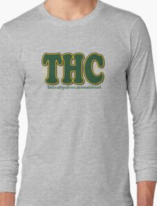 THC Cannabis Long Sleeve T-Shirt