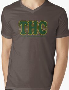 THC Cannabis Mens V-Neck T-Shirt