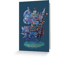 Fandom Moving Castle Greeting Card