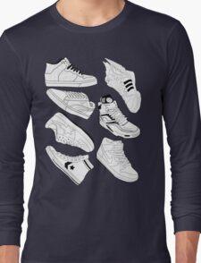 Sneaker Freak B/W Long Sleeve T-Shirt