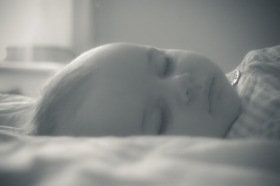 Darcey taking a nap by Matt Sillence