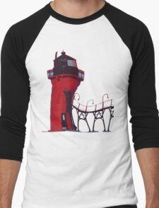 Lighthouse Men's Baseball ¾ T-Shirt