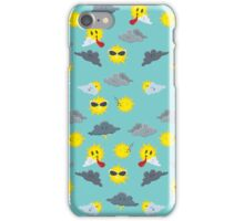 Seven Day Forecast (Pattern) iPhone Case/Skin
