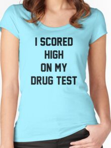 Funny Marijuana Women's Fitted Scoop T-Shirt