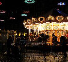 Christmas fair, la Plaza Mayor by mishainmadrid