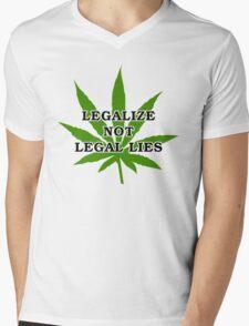 Legalize it Mens V-Neck T-Shirt