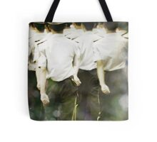 walk with deliberation Tote Bag