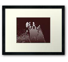 Four-legged Friend Framed Print