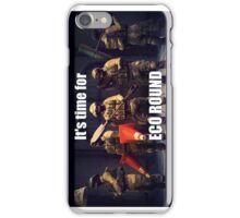 It's Time For ECO ROUND iPhone Case/Skin