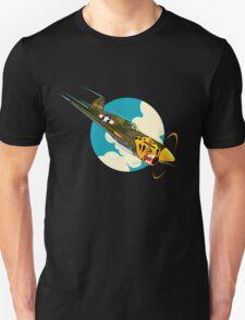 Aleutian Flying Tigers P-40  T-Shirt