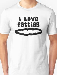 """I Love Fatties"" Weed T-Shirt"