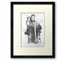 maria in chains Framed Print