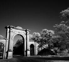 Attingham Main Gate by Simon Pattinson