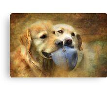 Best Mates Canvas Print