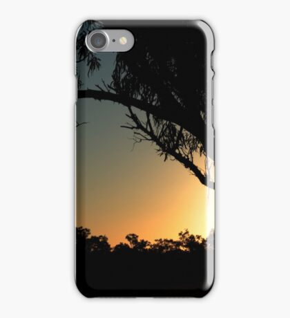 Sunset at Old Onslow (Internet at Woop Woop) iPhone Case/Skin