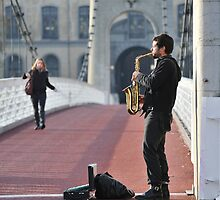Sur le pont de Lyon... by Kasia Nowak