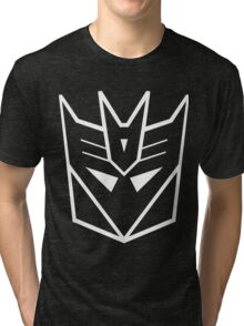 Splatoon SquidForce Splatfest Decepticons Tri-blend T-Shirt
