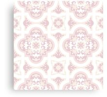 Watercolor flowers. Seamless pattern Canvas Print