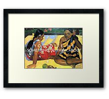 pvris / st. patrick / gaugin Framed Print