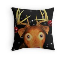 Gromit The Red Nose ReinDog Throw Pillow