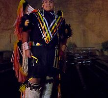 Navajo Fancy Dancer by Mitchell Tillison