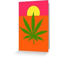 Marijuana Greeting Card