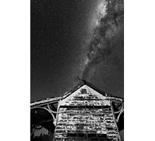 Explode the roof Photographic Print