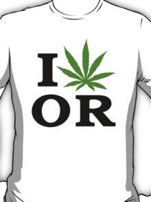 I Marijuana Oregon T-Shirt