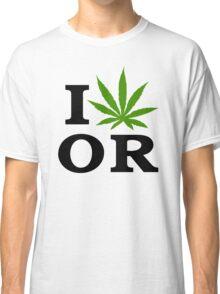 I Marijuana Oregon Classic T-Shirt
