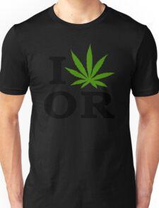 I Marijuana Oregon Unisex T-Shirt