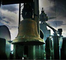 Battleship Texas - Ship's Bell by Savannah Gibbs