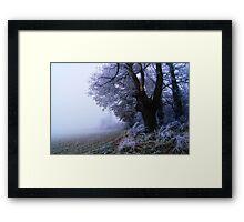 The Edge of Oblivion Framed Print